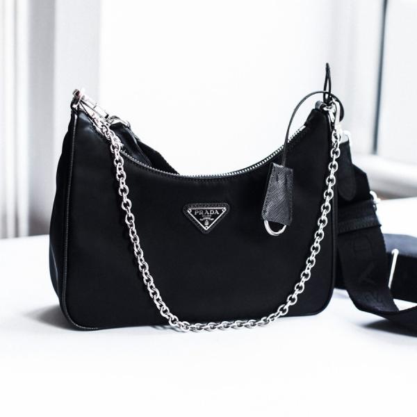 Bolsa Prada Re-Edition tudo sobre a it bag do momento