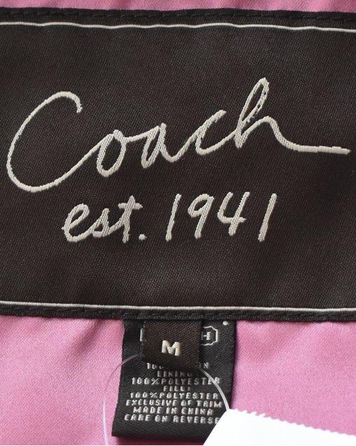 Casaco Coach de Nylon Preto