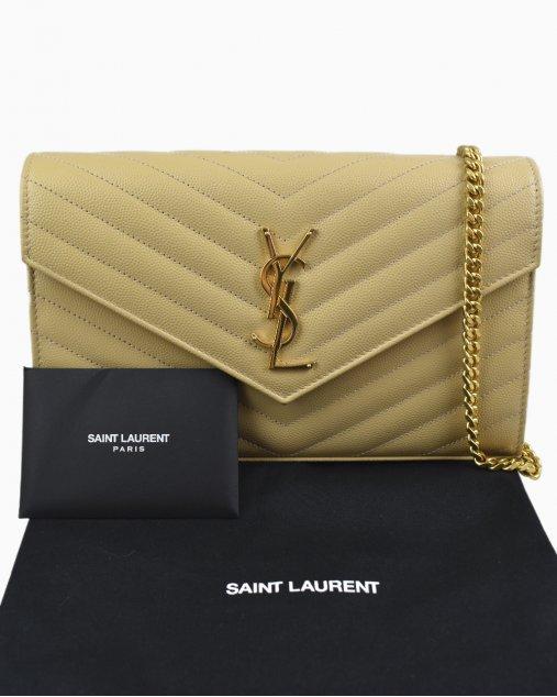 Bolsa Yves Saint Laurent Tiracolo Nude