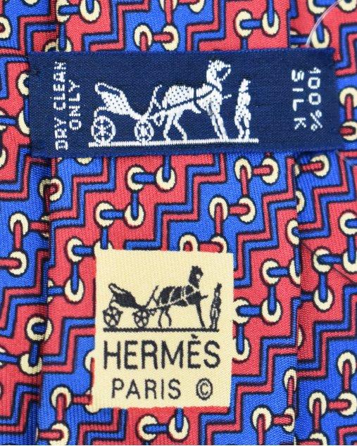Gravata Hermès Estampado