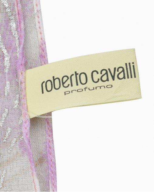 Lenço Roberto Cavalli Rosa