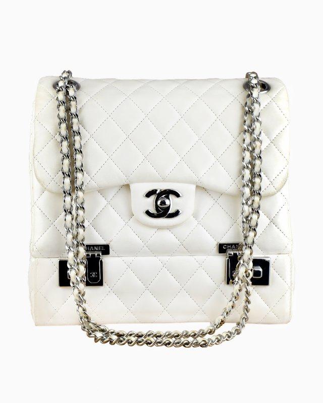 Bolsa Chanel Branca