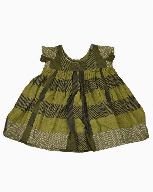 Bata Infantil Burberry Verde