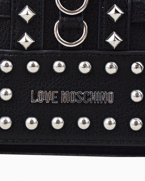 Bolsa Love Moschino Preta