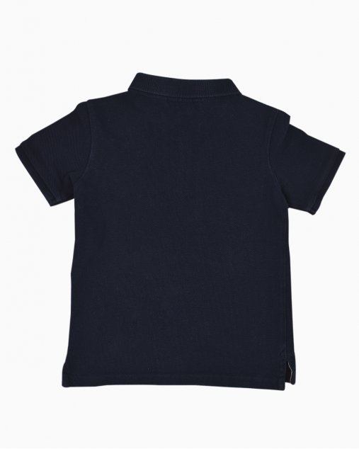 Polo Buberry Infantil Azul Marinho