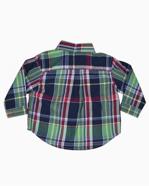 Camisa Ralph Lauren Infantil Xadrez