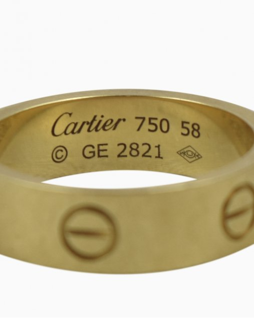 Anel Cartier Love Feminino