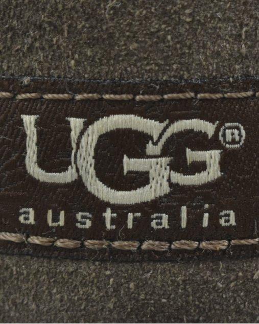 Bota Ugg Australia Bailey Button Triplet Marrom