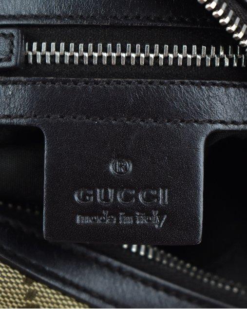 Bolsa Gucci Monograma GG Ebony