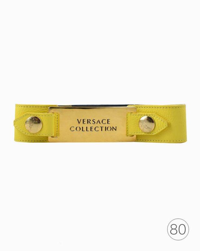 Cinto Versace Collection Amarelo