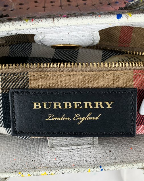 Bolsa Burberry Banner Customizada