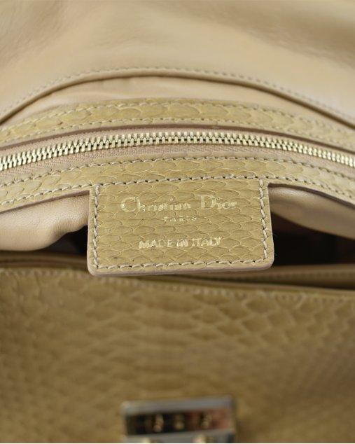 Bolsa Christian Dior Caramelo