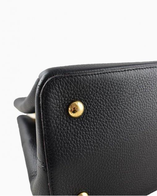 Bolsa Louis Vuitton Capucines MM Preta