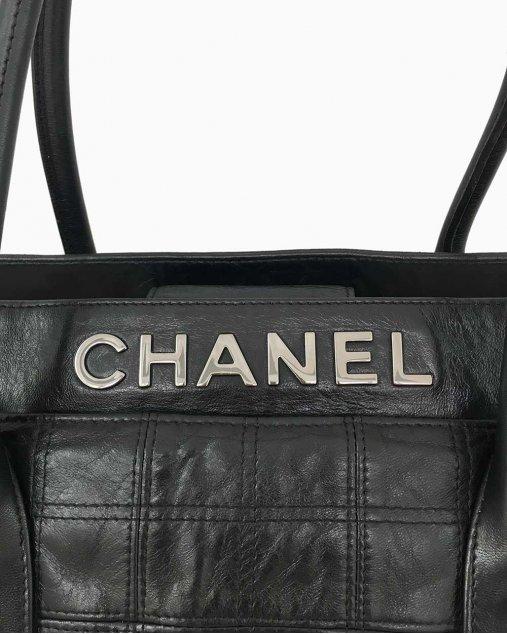 Bolsa Preta Chanel Vintage