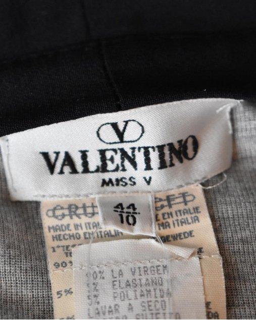 Calça Valentino Miss V Pantacourt Preta