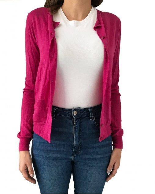Cardigan Prada Lã Pink