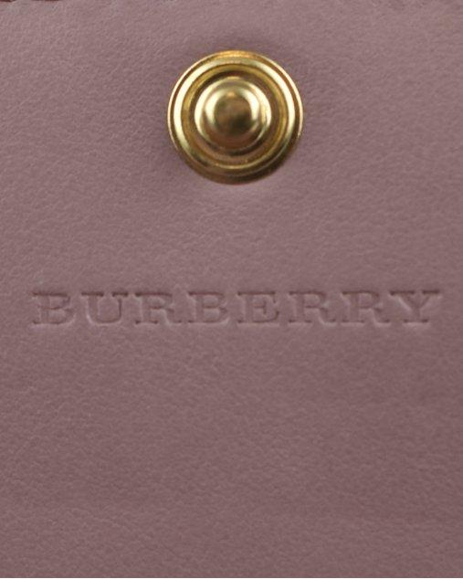 Carteira Burberry Rosê