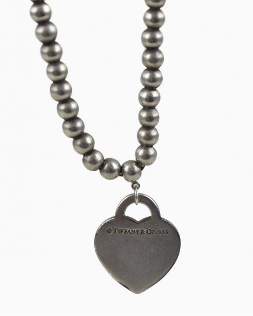 Colar Tiffany&Co Com Berloque De Coração