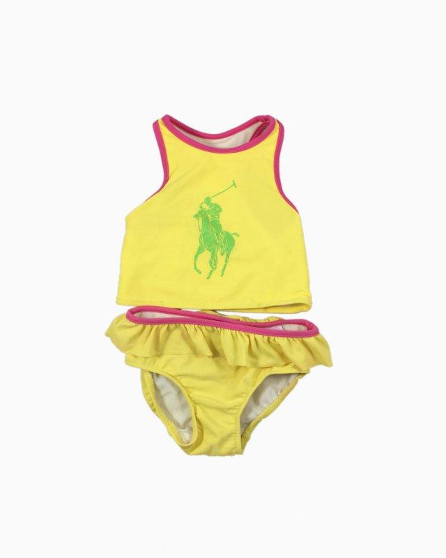 Conjunto Ralph Lauren Amarelo Infantil