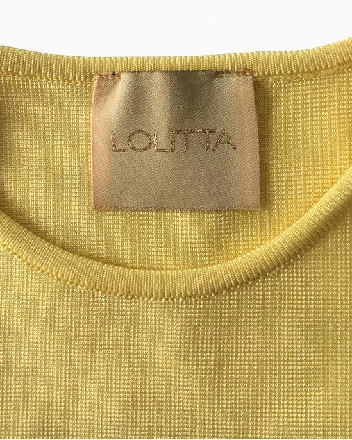 Cropped Lolitta Amarelo