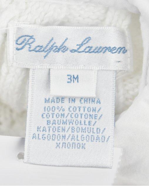 Macacão Infantil Ralph Lauren Tricot