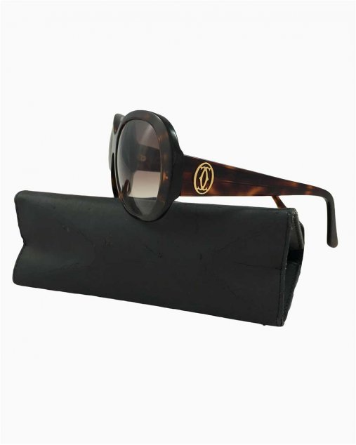Óculos Cartier Tartaruga