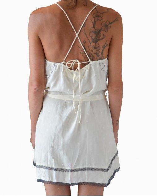Vestido Zadig & Voltaire Estrelas Off White