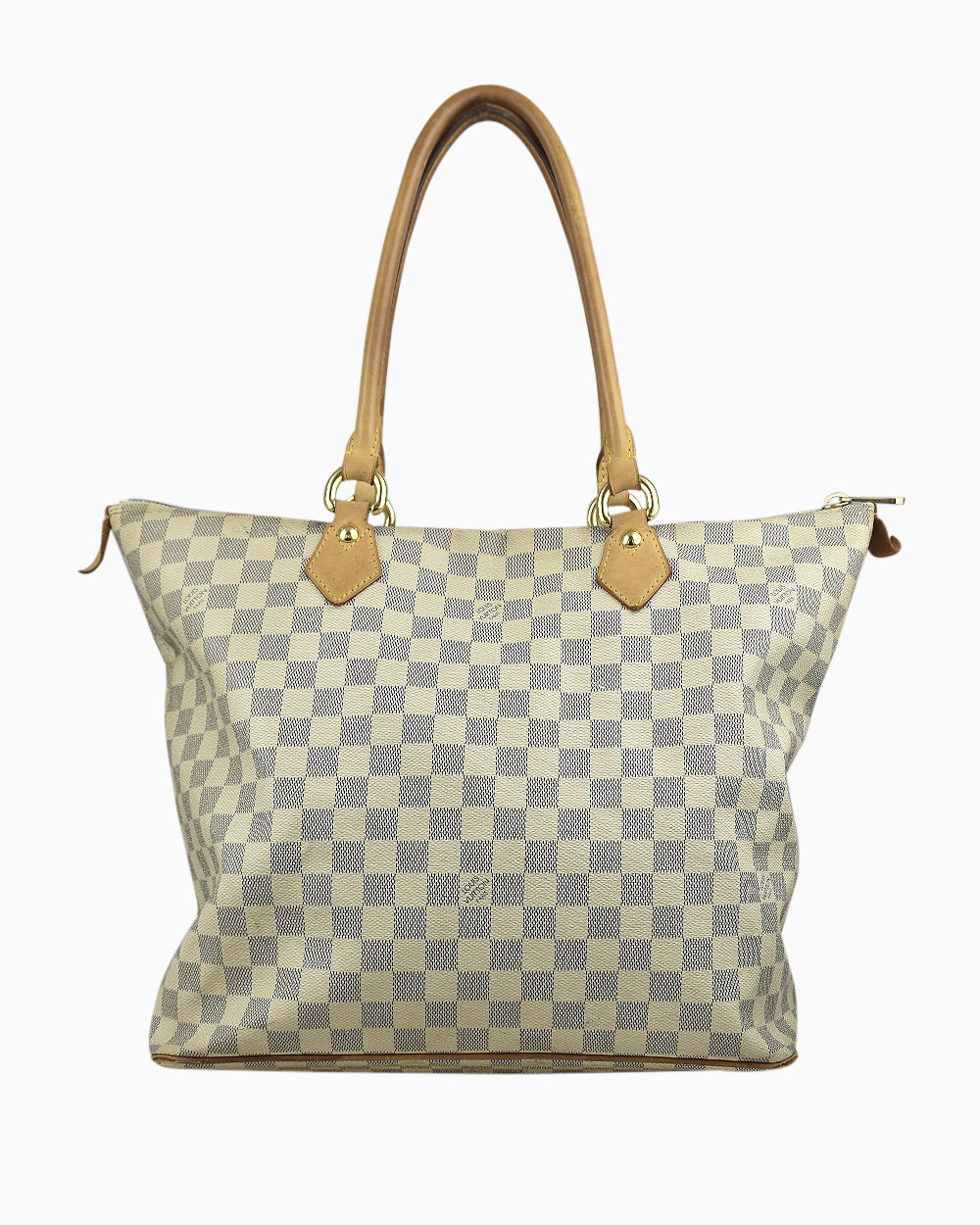 Bolsa Louis Vuitton Damier Azur Canvas Saleya