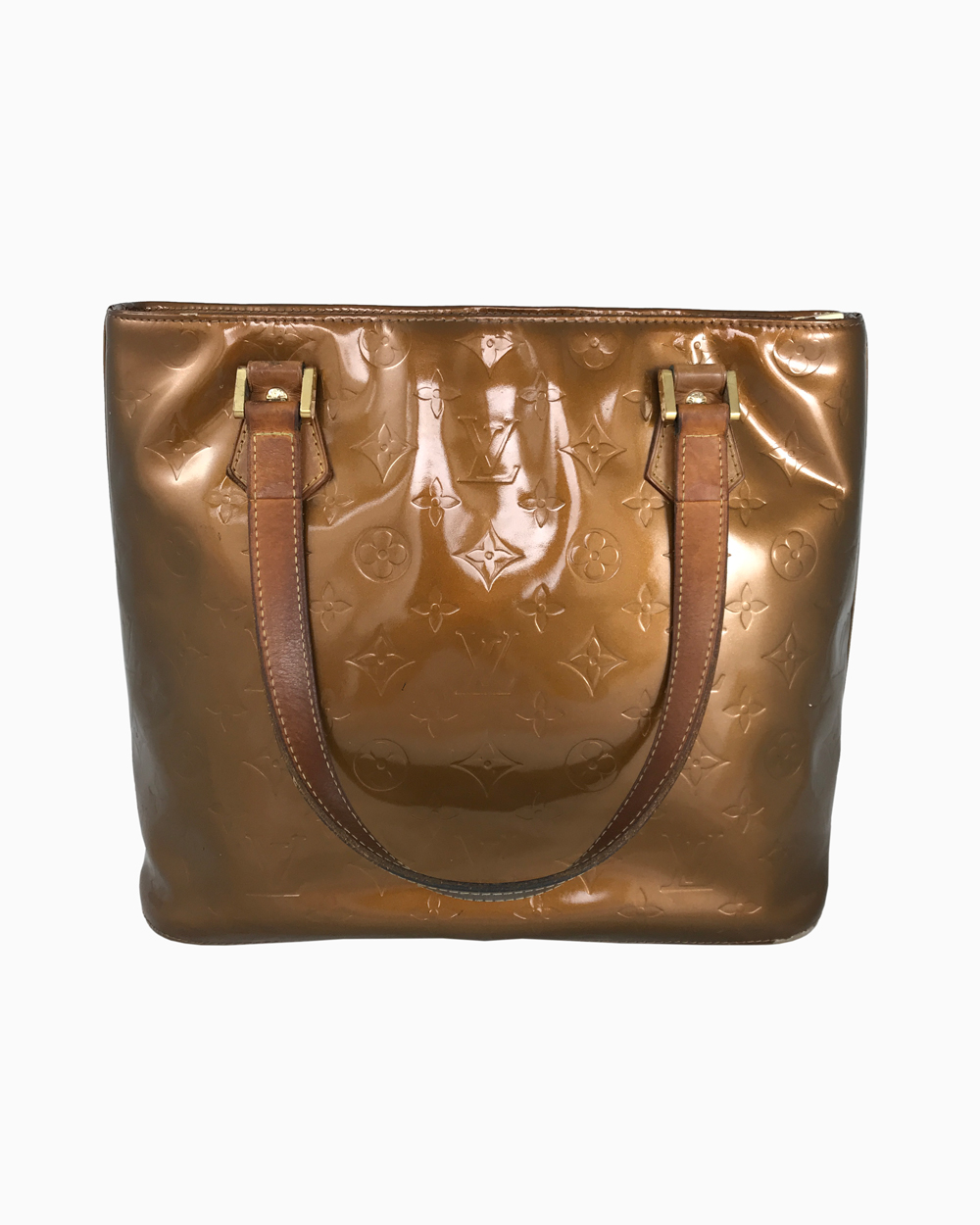 Bolsa Louis Vuitton Houston Vernis Bronze